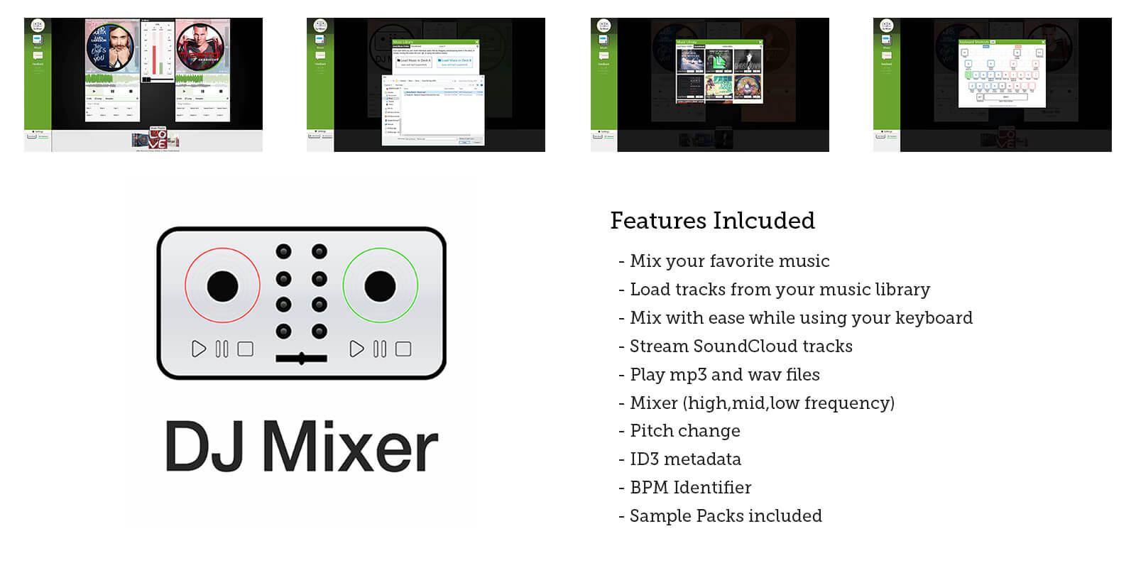 Enton Biba - Apps - DJ Mixer App - Mix Music