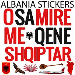 Albania Stickers for iMessage